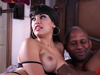 Mercedes Carrera Brought A BBC At Home