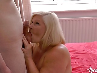 AgedLovE Lacey Starr gonzo elderly and youthfull ravage