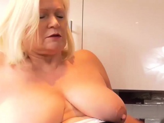 Agedlove granny chubby Lacey bang with Sam