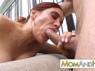 Gigantic melon cougar mommy Sheila Marie poked rock hard