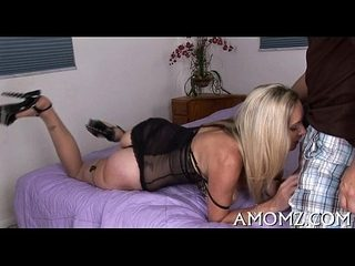 Large cock is what mom fantasies about