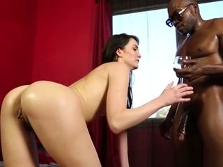 Big black cock liking pawed honey Interracially pounded