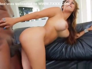 Ample melon platinum-blonde pornography starlet audition With big black cock point of view