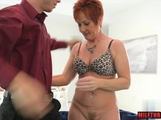 Steaming mummy enjoy making and jizz shot