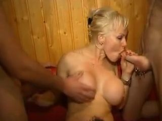 French Amateur Orgy In Club...