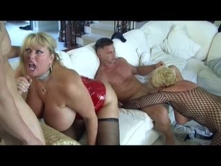Hawt Older Breasty Cougars Group-Fucked