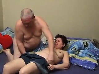 Horny mature lovers take care of each other's sexual urges