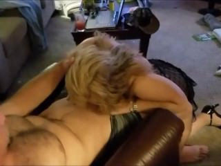 Horny Wife's 1st Taste of Another Man's Cock