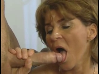 MILF enjoys hot hardcore sex with a younger cock