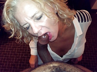 Hot Grandma Sucking BBC