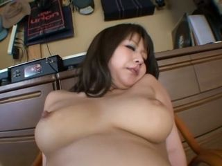 Epic chinese woman in super-naughty cougar, humungous milk cans JAV vid