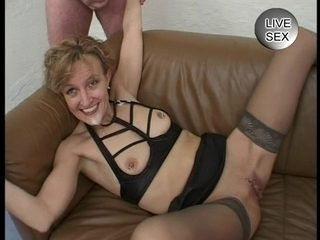 Absolutely Sexually Excited Older Lives To Drink Cum !
