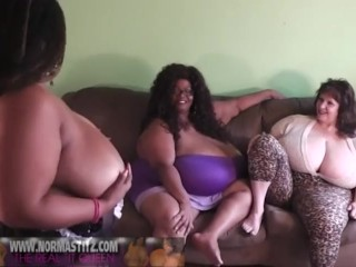 Norma Stitz_Suzy44K and plumper dark-hued toying Together