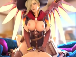 Grace OVERWATCH HALLOWEEN flesh railing!