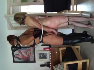 Great BDSM movie of tied up girls getting whipped