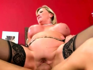 Shove around mart Milf Banged coupled with Creamed