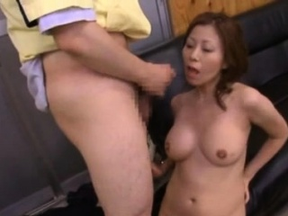 Japanese mother arches for 10-pounder in japanese boink movie