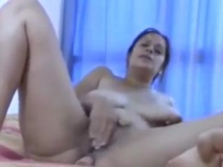 Mature saggy titties solo web cam