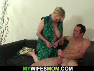 Gfs aged mommy lures him into hotwife fucky-fucky