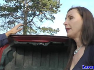 Dicksucking glam milf pounded and facialized