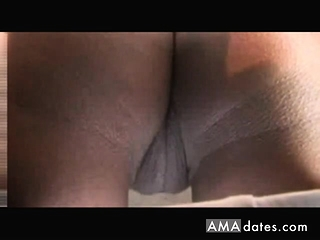 EBONY MILF SHOWS absent their way CAMEL start-off added to PHAT jet PUSSY