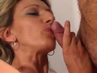 French cougar assfuck and pop-shot