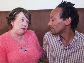 Grannie bi-racial bang-out