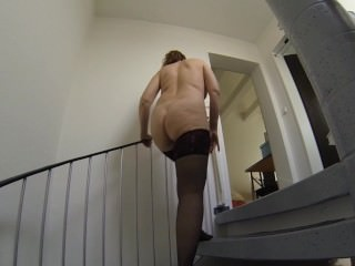My big mature butt in slow motion