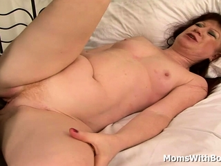 Sandy-haired Mama Esmeralda Sauced With A bbc