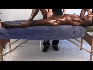Black caressed by elder stud