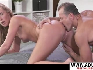 Super-naughty parent tongues rosy pucker Of bitchy cougar