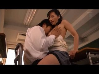 Mature japanese teacher wants young meat