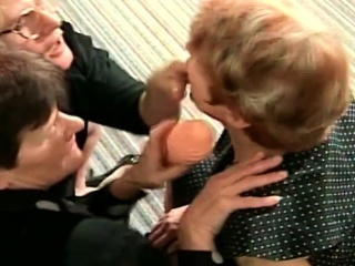 Three horny old lady has sex meeting at home