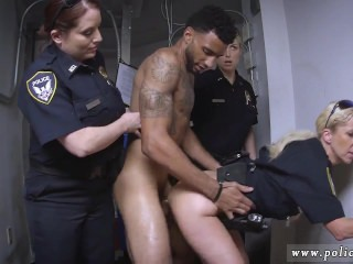 2 cops and a brunette first time Don't be ebony and suspicious around