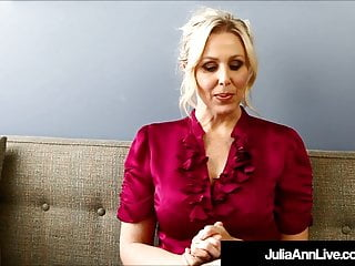 Vituperative Talkin Milf omnibus files. Julia Ann Teaches rail against