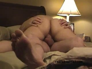 Lush wifey with monstrous cellulitis bootie is blessed to rail pipe on top