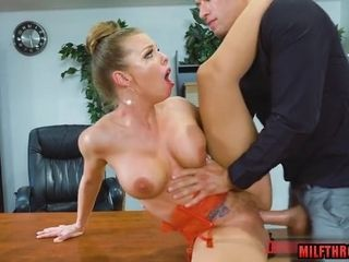Softcore housewife rock-hard romp