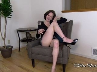 What step-mom Would Do if It Wasn't Taboo - Mrs Mischief taboo cougar point of view