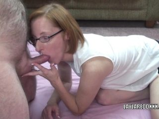 Redhead mature I'd like to fuck Layla Redd receives her aged bawdy cleft screwed