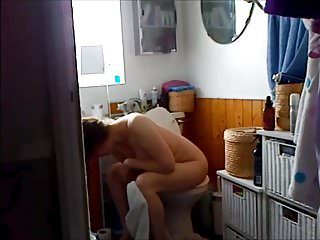 Voyeur full-grown beamy titties milf lavatory WC seizure