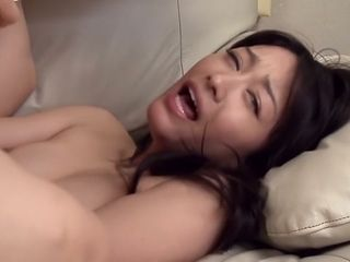 Insatiable asian dame in astounding wifey JAV flick