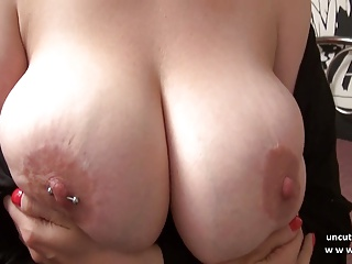 Gorgeous huge boobed chubby french mom sodomized and jizzed