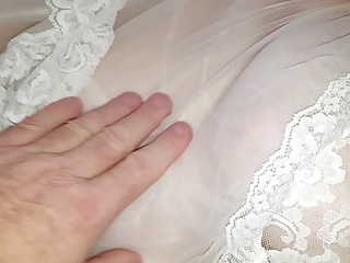 wifes nipple in see through nightie