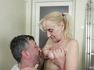 Junior stud tempt 72yr senior GERMAN grandmother LISA TO ravage