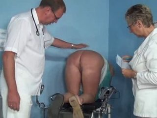 Mature threesome with a hot MILF nurse and a hot doctor
