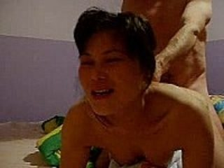 Thai chick screams 4 facial