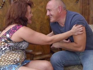 Redhead Mature Is Wet In Her Panties