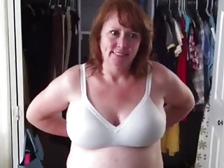 Christine exposes her tits 1