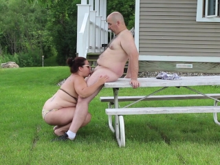 Meal alfresco provisions Blowjob - pinch pennies Gives become man Cyclopean Facial - open-air HD