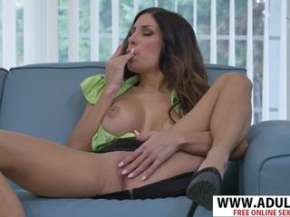 Hispanic milf Gets ejaculation With fuck-a-thon fucktoy